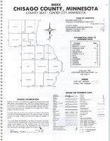 Index Map, Chisago County 1982
